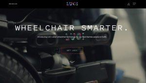 LUCI smart wheelchair technology