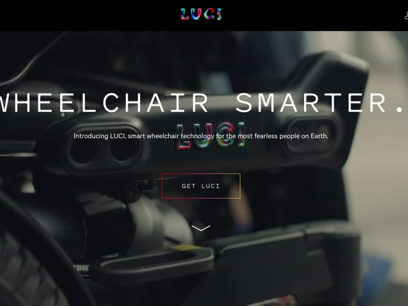 LUCI smart wheelchair technology