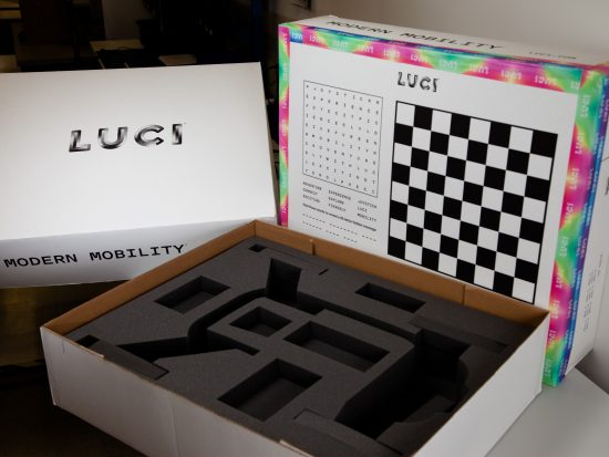 LUCI packaging