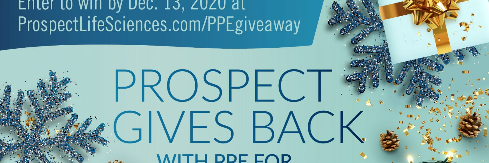 Prospect Gives Back with PPE for our community